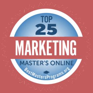 Top 25 Marketing Master's Online