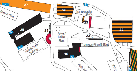 Missouri Western State University Campus Map.Getting To Northwest Admissions Northwest