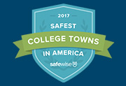 One of the 50 safest college towns in America