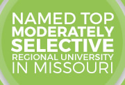 Named top moderately selective regional university in Missouri