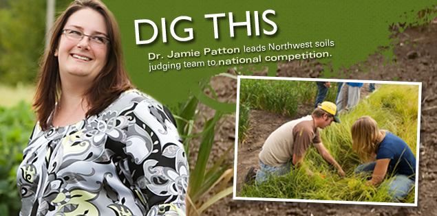 Dig This: Dr. Jamie Patton leads Northwest soils judging team to national competition.