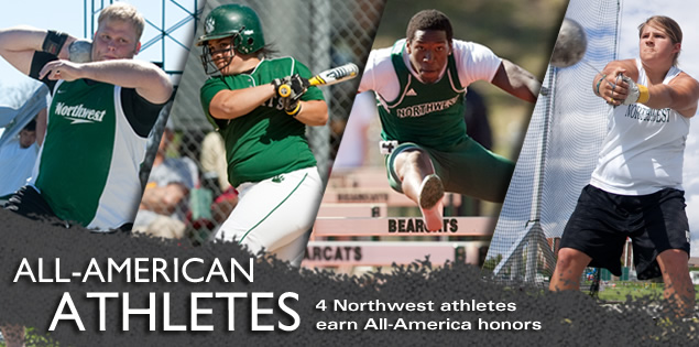 All-American Athletes: 4 Northwest athletes earn All-America honors.