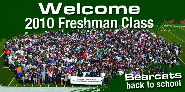Welcome 2010 Freshman Class: Bearcats back to school