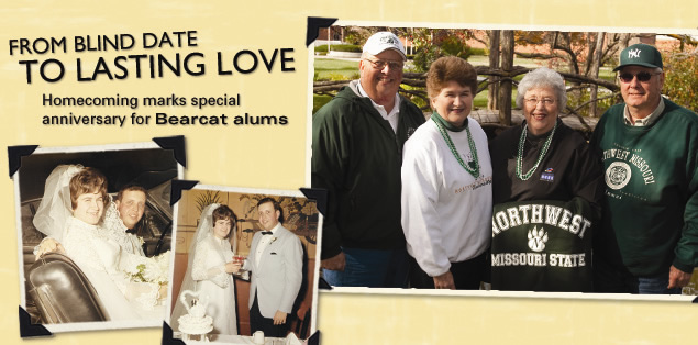 From Blind Date To Lasting Love: Homecoming marks special anniversary for Bearcat alums.