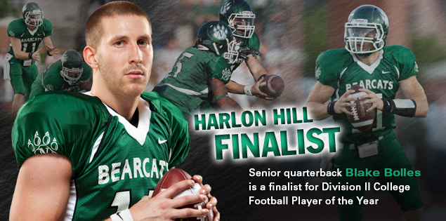 Harlon Hill Finalist: Senior quarterback Blake Bolles is a finalist for Division II College Football Player of the Year.