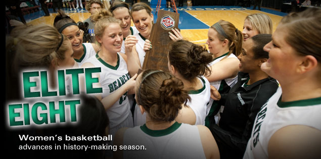Elite Eight: Women's basketball advances in history-making season