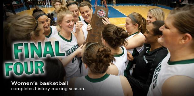 Final Four: Women's basketball advances in history-making season