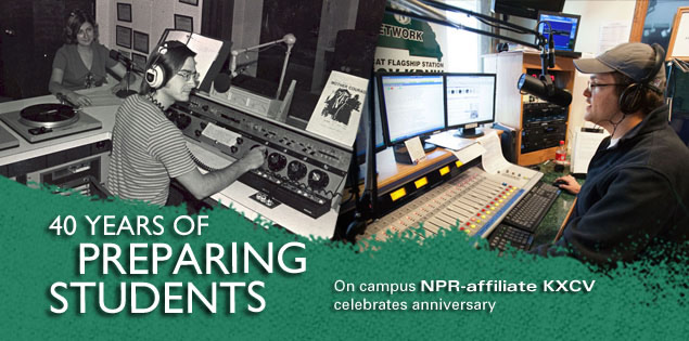 40 Years of Preparing Students: On campus NPR-affiliate KXCV celebrates anniversary