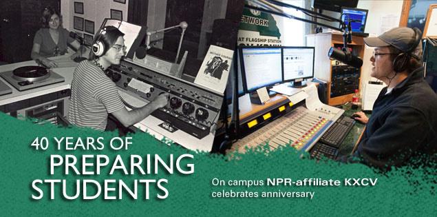40 Years of Preparing Students: On campus NPR-affiliate KXCV celebrates anniversary