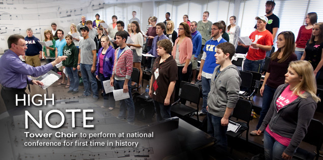 High Note: Tower Choir to perform at national conference for first time in history