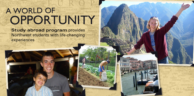 A World of Opportunity: Study Abroad program provides Northwest students with life-changing experiences