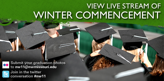Follow Northwest commencement with live stream, social media