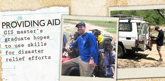 Providing Aid: GIS master's graduate hopes to use skills for disaster relief efforts