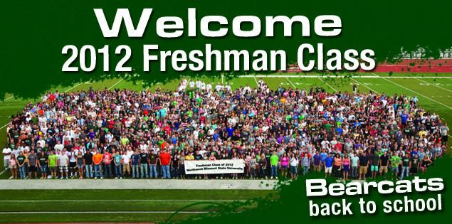 Welcome 2012 Freshman Class: Bearcats back to school