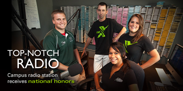 Top-notch radio | Campus radio station receives national honors
