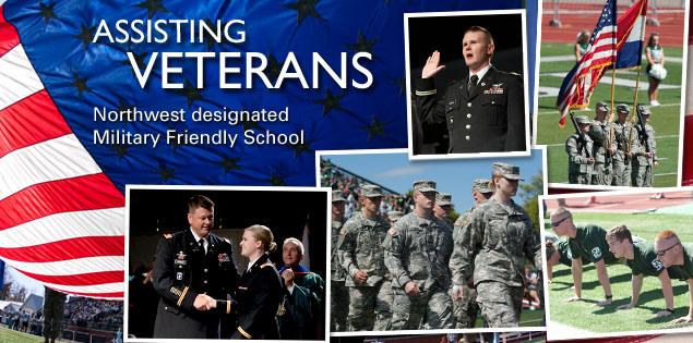 Assisting veterans | Northwest designated Military Friendly School