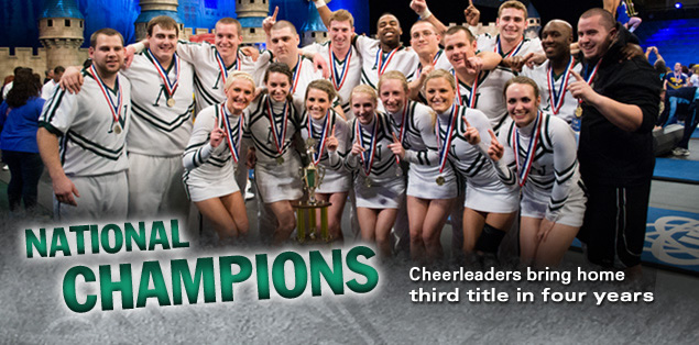 National Champions: Cheerleaders bring home third title in four years