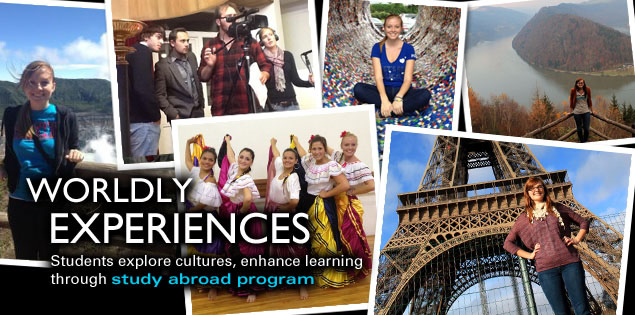Wordly Experiences: Students explore cultures, enhance learning through study abroad program