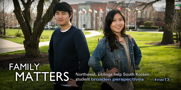 Family Matters: Northwest, siblings help South Korean student broaden perspectives
