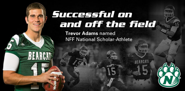 Successful on and off the field: Trevor Adams named NFF National Scholar-Athlete