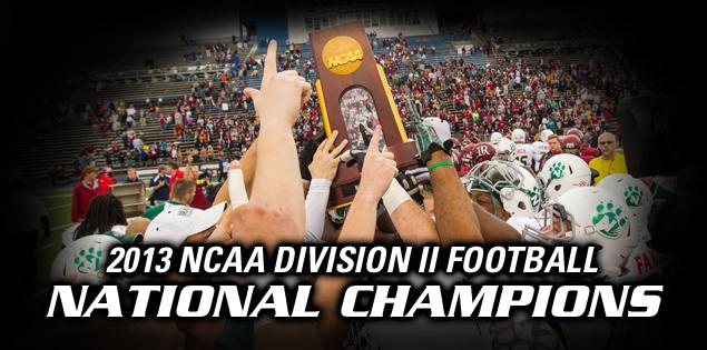 2013 NCAA Division II Football National Champions