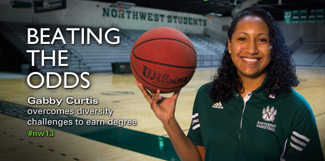 Beating the Odds: Gabby Curtis overcomes diversity challenges to earn degree