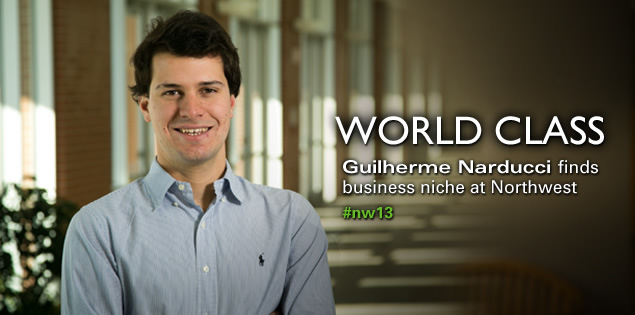 World Class: Guilherme Narducci finds business niche at Northwest