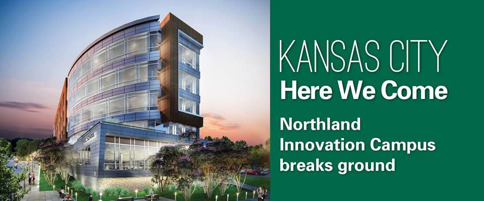 Kansas City Here We Come: Northwest Innovation Campus breaks ground