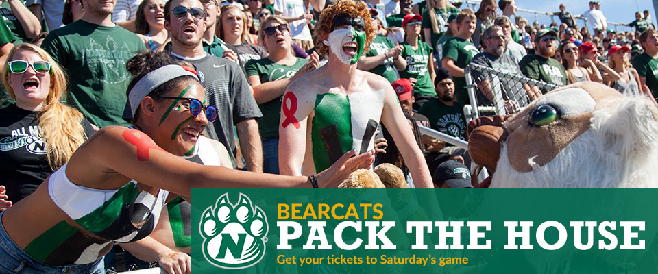 Bearcats Pack the House: Get your tickets to Saturday's game
