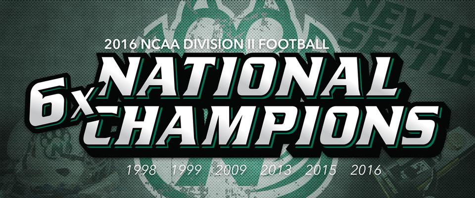 2016 NCAA Division II Football National Champions