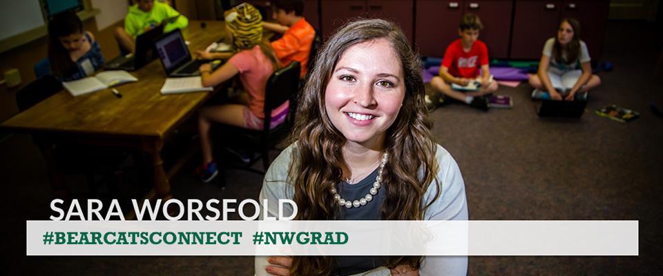 Sara Worsfold #NWGrad