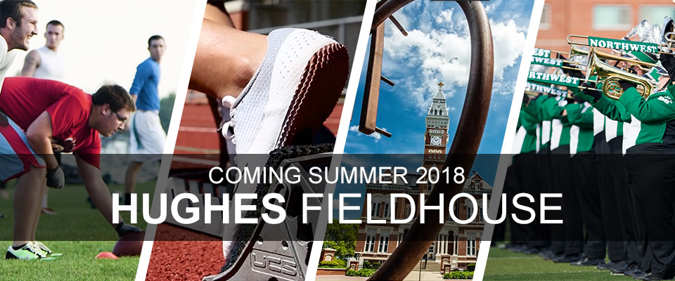 Hughes Fieldhouse: Coming Fall 2018