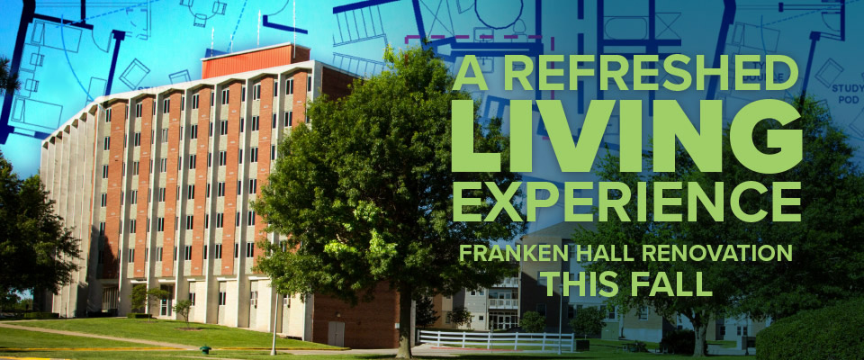 A Refreshed Living Experience: Franken Hall renovation this fall