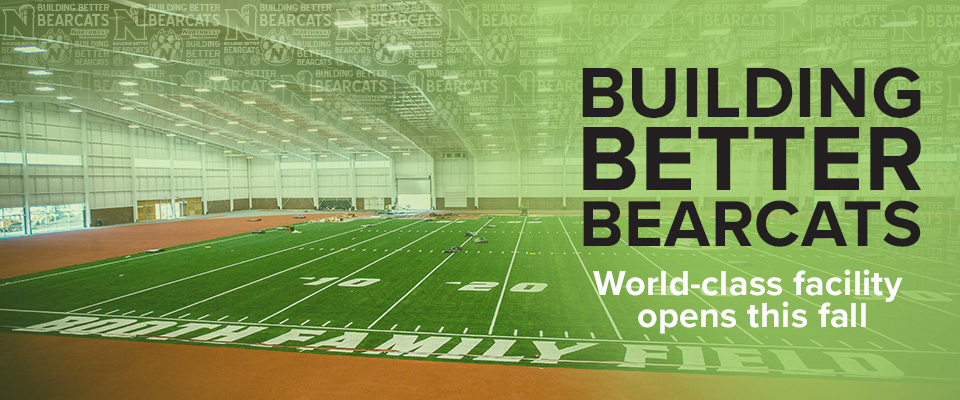 Hughes Fieldhouse: Building Better Bearcats
