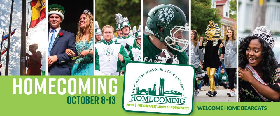 Northwest Homecoming: October 8-13, 2018