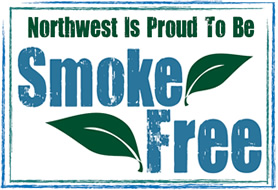 Northwest is proud to be smoke-free.