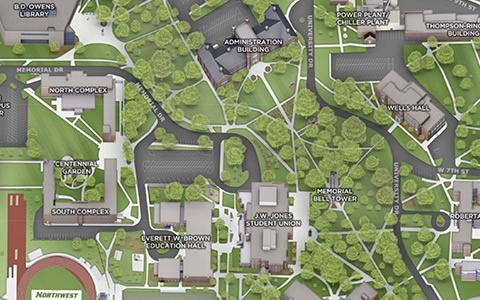 Del Tech Owens Campus Map.Maps And Tours Northwest
