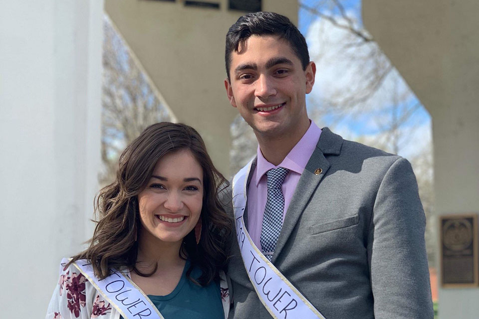 Fasani, Branson crowned 2019 Tower King, Tower Queen