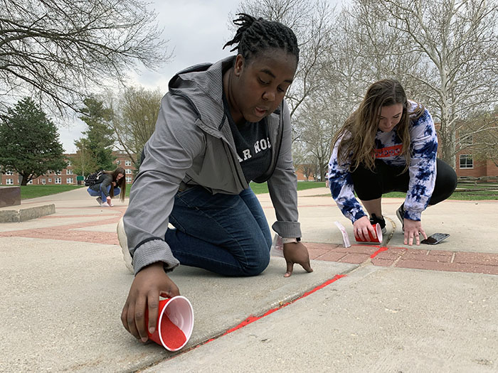 Northwest community joins Red Sand Project to raise awareness