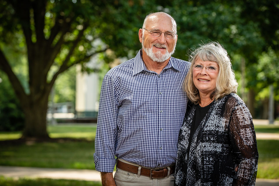 Don and Dr. Joyce Piveral