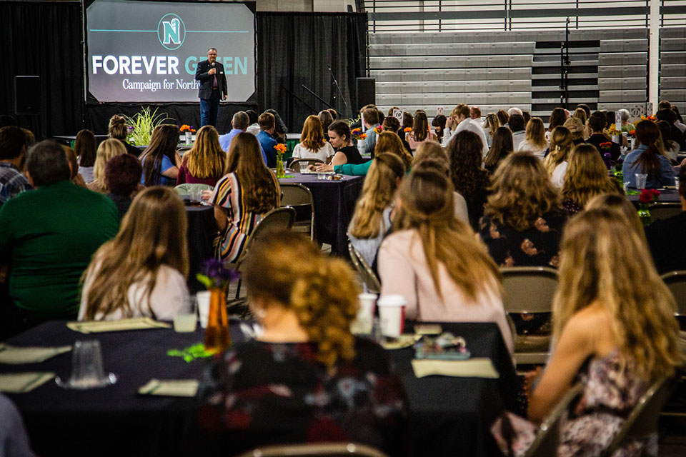 University celebrates students, donors during annual 'Powering Dreams' event