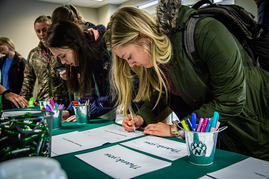 Northwest students encouraged to thank alumni, donors April 13