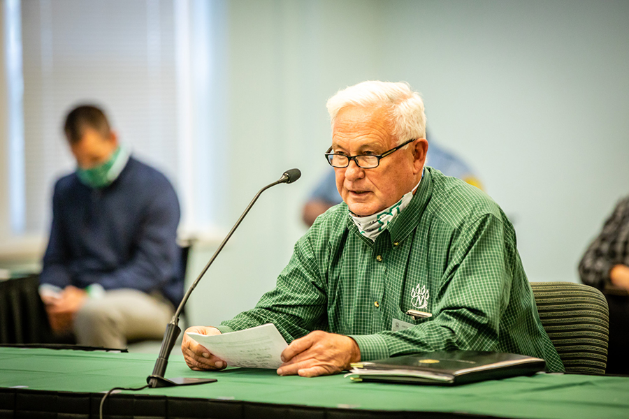 Alumnus's gift moves Ag Learning Center fundraising past goal; facility set to open in early 2021