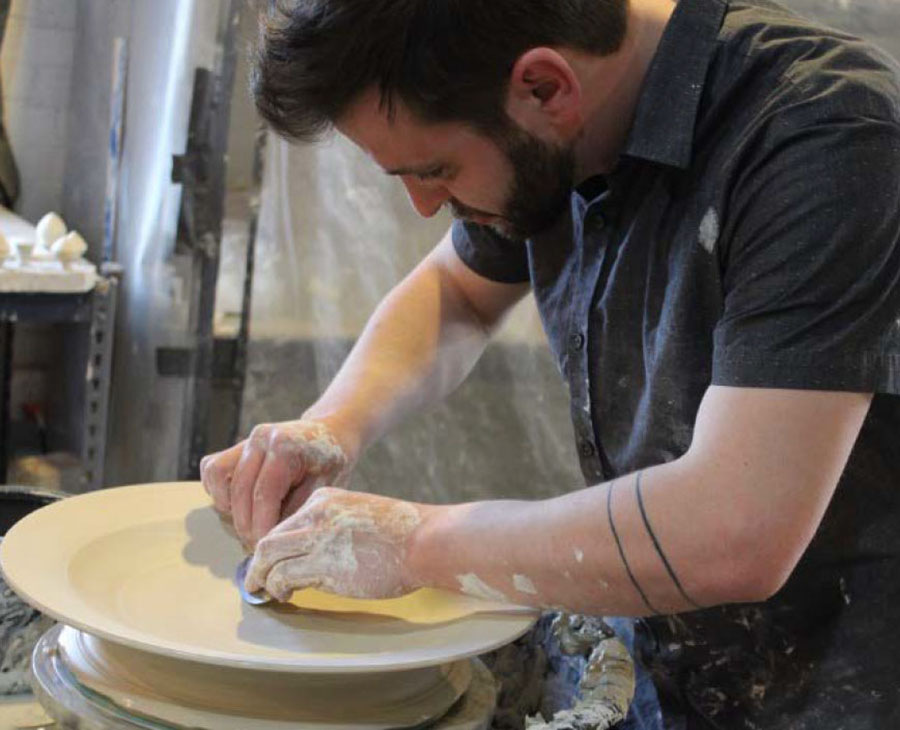 Visiting artist bringing mix of contemporary, historical art to Northwest