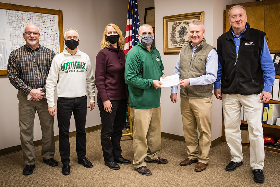 Nodaway County commissioners provide funding support to Northwest's Agricultural Learning Center