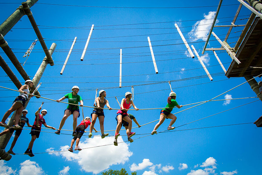 Northwest invites youth to summer camp at MOERA challenge course