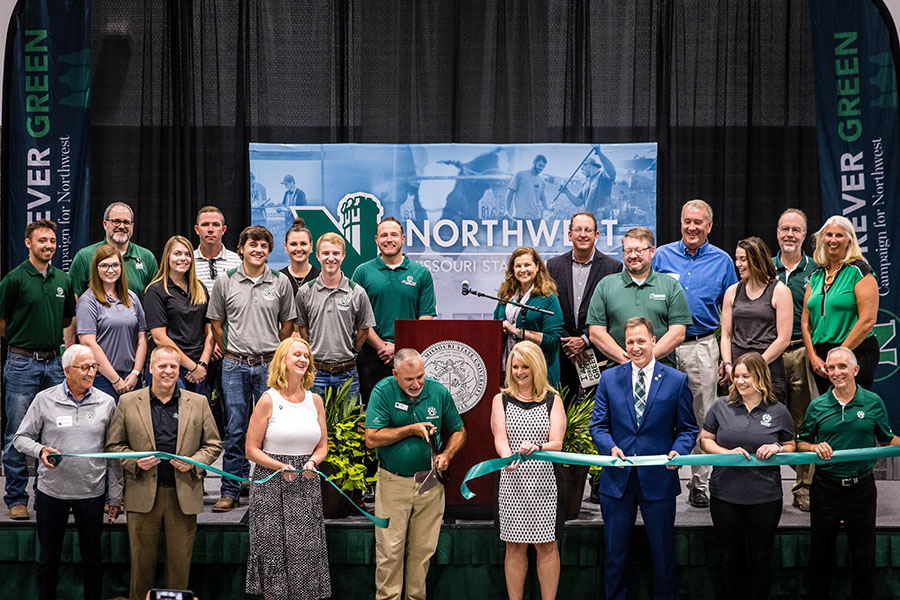 Northwest celebrates opening of Agricultural Learning Center, culmination of $55 million fundraising campaign