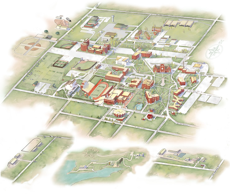 Northwest University Campus Map.Campus Space Facility Services Northwest